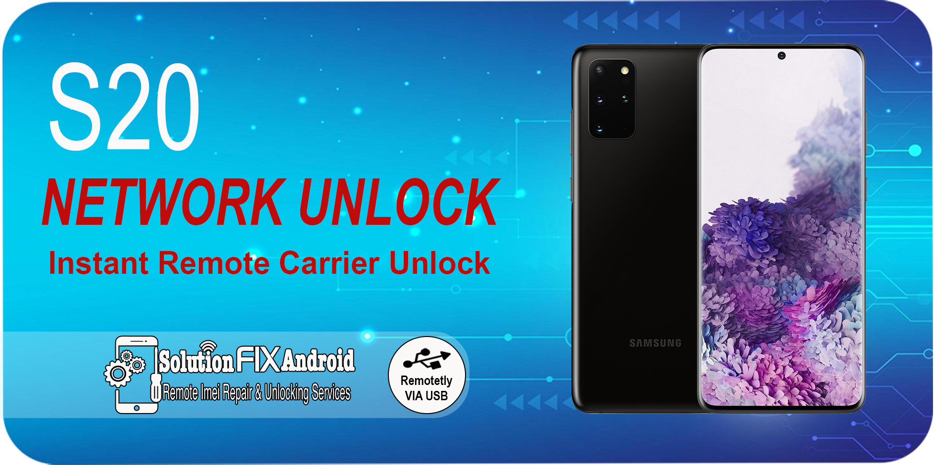 SAMSUNG S20 ULTRA SM-G988U Samsung Instant Blacklisted Bad IMEI Repair